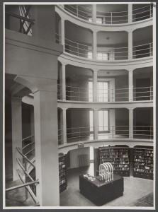 Biblioteca Nazionale, il pozzo librario