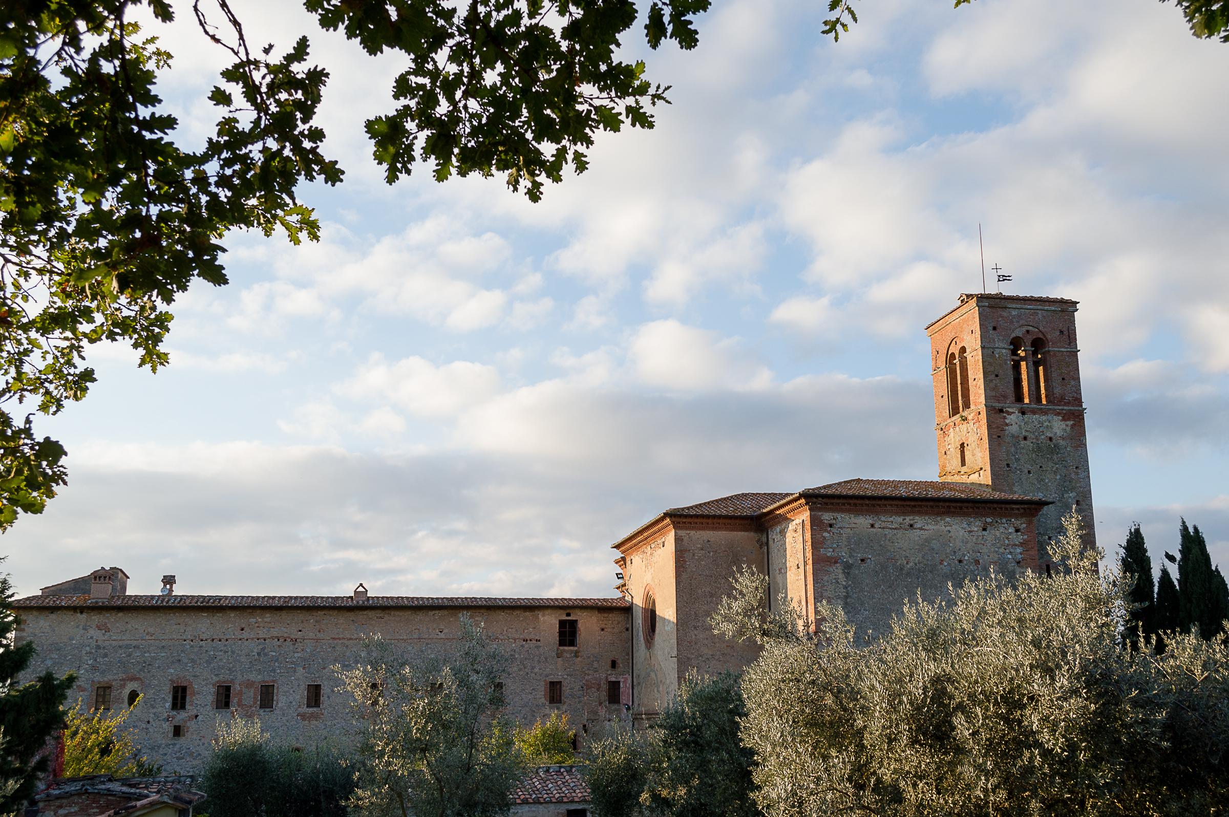 sterno Monastero di Sant'Anna in Camprena (Pienza)