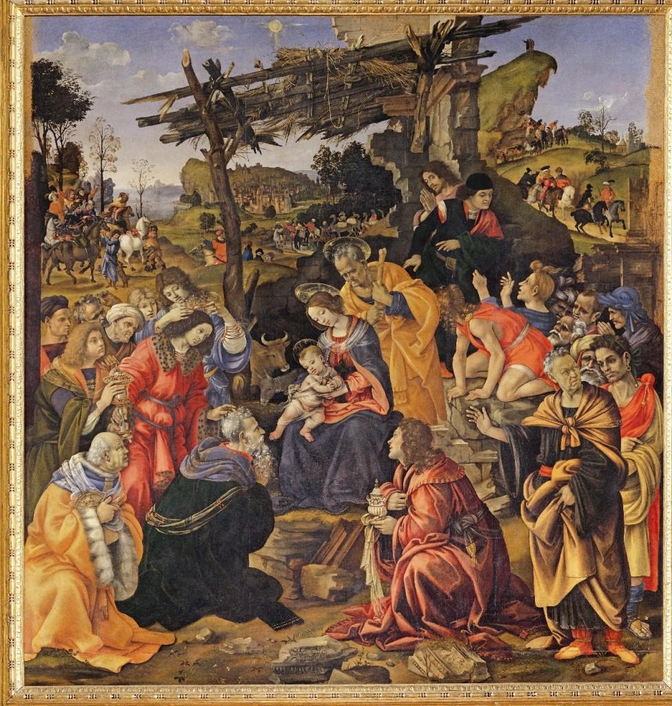 Filippino Lippi, l'Adorazione dei Magi