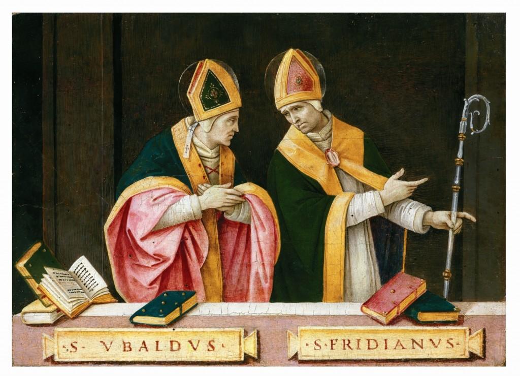Filippino Lippi, I santi Ubaldo e Frediano, 1496